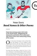 Band Names &; Other Poems
