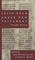 Solid Rock Greek New Testament, Portable Edition