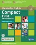 Compact First Student's Book with Answers with CD-ROM with Testbank