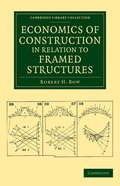 Economics of Construction in Relation to Framed Structures