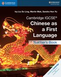 Cambridge IGCSE Chinese as a First Language Teacher's Book