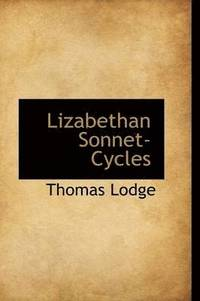 Lizabethan Sonnet-Cycles