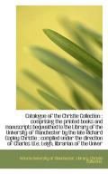 Catalogue of the Christie Collection