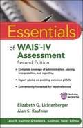 Essential of WAIS-IV Assessment 2nd Edition Book/CD Package