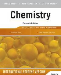Student Solutions Manual To Accompany Chemistry The Molecular