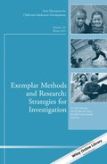 Exemplar Methods and Research: Strategies for Investigation