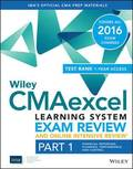 Wiley CMAexcel Learning System Exam Review 2016 and Online Intensive Review : Part 1, Financial Planning, Performance and Control Set