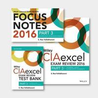 Wiley CIA Exam Review 2019 Practice of Internal Auditing Set Focus Notes: Part 2 Test Bank