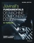 Fundamentals of Machine Component Design, Global Edition