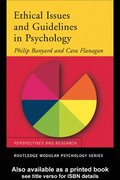 Ethical Issues and Guidelines in Psychology