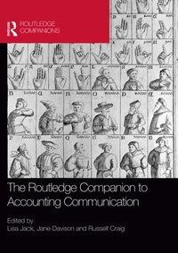 Routledge Companion to Accounting Communication