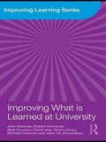 Improving What is Learned at University