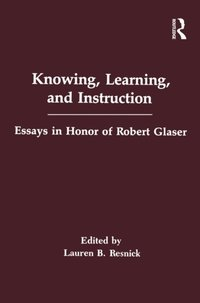 Knowing, Learning, and instruction