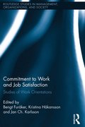 Commitment to Work and Job Satisfaction