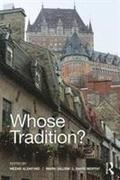 Whose Tradition?