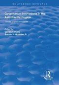 Governance Innovations in the Asia-Pacific Region