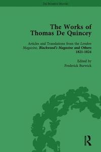 The Works of Thomas De Quincey, Part I Vol 3