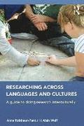 Researching Across Languages and Cultures