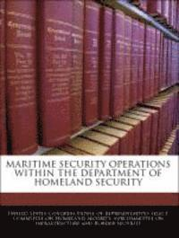 Maritime Security Operations Within the Department of Homeland Security