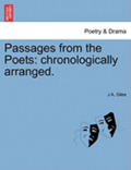 Passages from the Poets