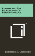 Realism and the Background of Phenomenology