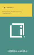 Dreaming: Studies in Philosophical Psychology