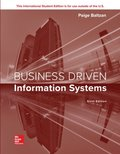 ISE eBook Online Access for Business Driven Information Systems