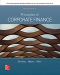 ISE eBook Online Access for Principles of Corporate Finance