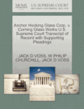 Anchor Hocking Glass Corp. V. Corning Glass Works U.S. Supreme Court Transcript of Record with Supporting Pleadings