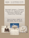 Burchett (James) V. Cardwell (Harold) U.S. Supreme Court Transcript of Record with Supporting Pleadings