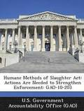 Humane Methods of Slaughter ACT