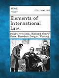 Elements of International Law.