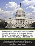 Workshop on Deepwater Environmental Studies Strategy
