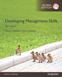 9781292097480: developing management skills, global edition.