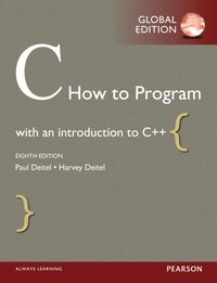 C How to Program, Global Edition