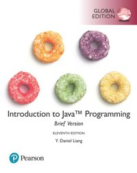 Introduction to Java Programming, Brief Version, Global Edition