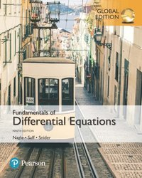 Fundamentals of Differential Equations, Global Edition