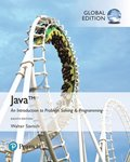 Java: An Introduction to Problem Solving and Programming plus Pearson MyLab Programming with Pearson eText, Global Edition