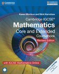 Cambridge IGCSE Mathematics Core and Extended Coursebook with CD-ROM and IGCSE Mathematics Online Revised Edition