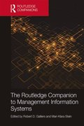 Routledge Companion to Management Information Systems
