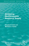 Analyzing Nonrenewable Resource Supply