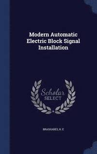 Modern Automatic Electric Block Signal Installation