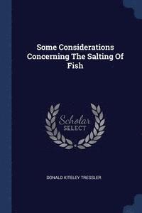 Some Considerations Concerning the Salting of Fish