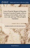 Letters From The Marquis De Montcalm, Go