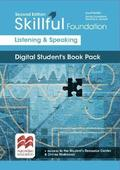 Skillful Second Edition Foundation Level Listening and Speaking Digital Student's Book Premium Pack