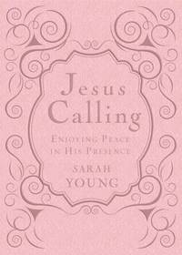 Jesus Calling, Enjoying Peace in His Presence, pink leathersoft, with Scripture references