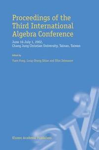 Proceedings of the Third International Algebra Conference