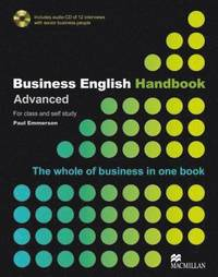 Business English Handbook with CD