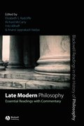 Late Modern Philosophy