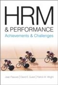 HRM and Performance